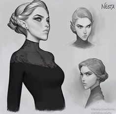 """Mi piace"": 36, commenti: 3 - The Fae Bastards (@the_fae_bastards) su Instagram: ""I actually picture Nesta as this... #nesta #nestaarcheron #elain #elainarcheron #feyre…"""