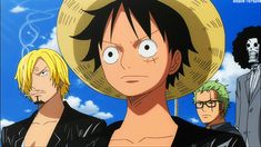 Luffy, Sanji, Zoro, Brook | One Piece Film Z