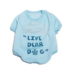 Na moda! <3 Camiseta Coroa Dear Dog. #petmeupet #deardog #modapet #cachorro #fashion #amocachorro