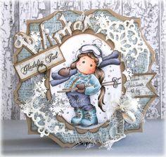 Cardville- Cards by Elizabeth: Julehilsen: Merry Christmas