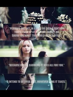 Klaus & Caroline - I still weep over this!