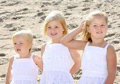 De drie oranje prinsesjes