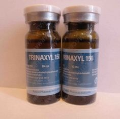 Real Kalpa Trinaxyl dosed at 150 mg/ml (Trenbolone Mix 50 mg of Testosterone Acetate 50 mg of Testosterone Enanthate 50 mg of Testosterone Hexahydrobenzylcarbonate). Buy it on-line in our Store! #trinaxyl #kalpa #testosterone #steroids #anabolics