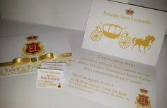 Convite personalizado Príncipe/Princesa