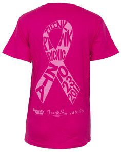 Breast Cancer Awareness!  Trying to think up an idea for next years T-shirt!