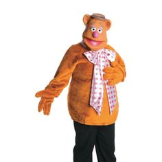Fozzie Bear Halloween Costume for Men - Small