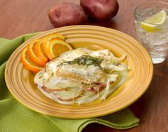 Scalloped Potatoes with Chicken and Fennel #Veggies #Protein #Dairy #MyPlate #WhatsCooking