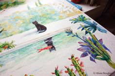 Close up.. Aliona Bereghici Illustration. alionabereghici.blogspot.com