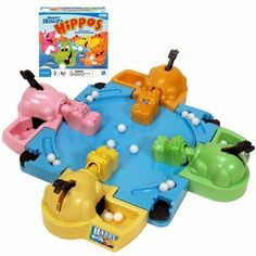 hungry hungry hippos....most games when I was a kid involved slapping something. also see Hands Down