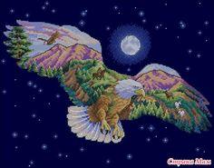 eagle cross stitch