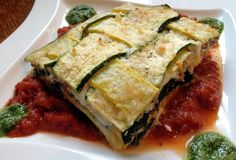 Gluten-Free Summer Squash Lasagna on MyRecipeMagic.com