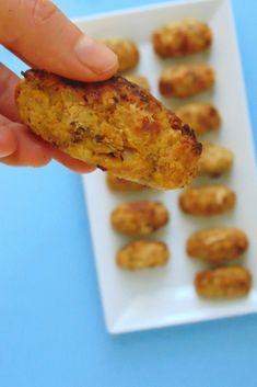 Croquetas de coliflor al horno Tapas, Vegan Recipes, Vegan Food, Zucchini, Food And Drink, Appetizers, Keto, Nutrition, Vegetables