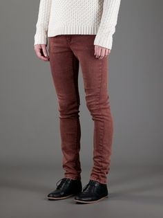 Skinny Jeans CHEAP MONDAY homme - Brown 29/32 - neuf 35€