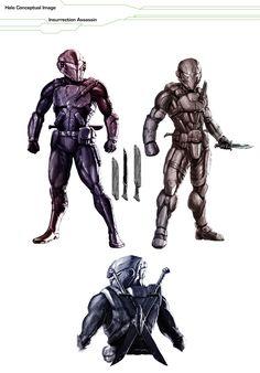 Halo - Assassin Concept *re-up* by AzakaChi-RD-17.deviantart.com on @DeviantArt