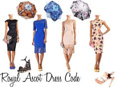 """""""Royal Ascot Dress Code"""" by glam-net on Polyvore"""