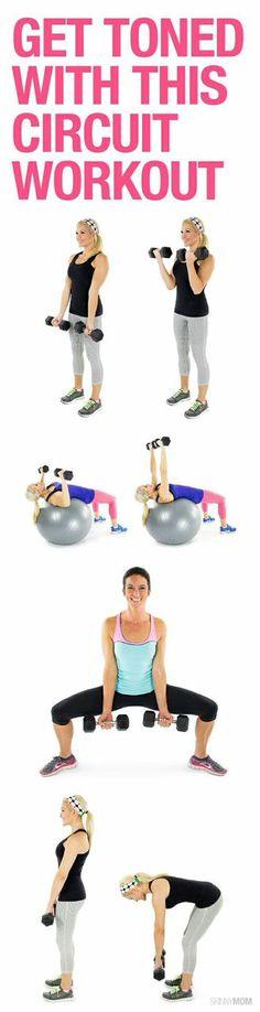 Apriete y el tono con este entrenamiento de cuerpo entero!