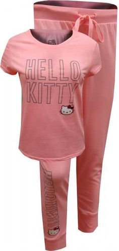 Hello Kitty Classic Pink Pajama Set cfa2504730