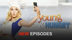 "Check out ""Young & Hungry"" on that I for Watch Netflix, Netflix Movies, Movie Tv, Tv Shows Current, Current Tv, Young & Hungry, Tv Shows Online, Smart Tv, Movies And Tv Shows"