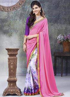 Printed Wholesale Sarees Collection  Buy full catalog @ http://www.wholesalesalwar.com/sarees?catalog=vogue-1563