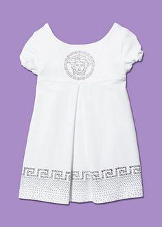 Versace - Sommerkleid mit Glitzer-Dekor