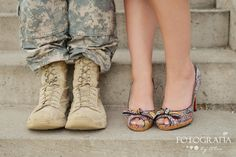 Military Engagement Photo Ideas | Posted by Alea at 1:04 PM 2 comments: