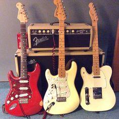 @Fender.  #fenderlefty