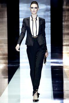 Gucci Spring 2012 Ready-to-Wear Fashion Show - Jacquelyn Jablonski