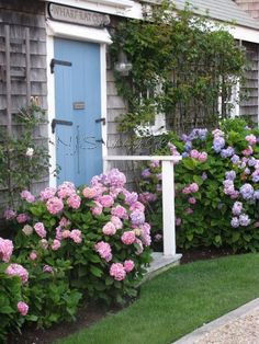 Hydrangea Cottage  11x14 Print  Photography  Home by NJSimages, $24.00