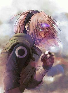 Sakura Haruno (春野サクラ, Haruno Sakura) is one of the main characters in the series. She is a chūnin-level kunoichi of Konohagakure, a talented medical-nin, and a member of Team Kakashi. Anime Naruto, Naruto Girls, Manga Anime, Naruto Fan Art, Naruto Shippuden Anime, Boruto, Narusaku, Aot Anime, Sasuke Sakura