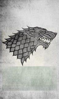 Logo of House Stark. Winter is coming! #gameofthrones