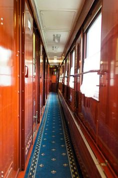 This may not be the Orient Express, but for some reason, it seems to me like it should be...