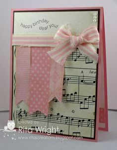 Rita's Creations: Shabby Music for Hope You Can Cling To