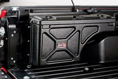 UnderCover Swing Case Truck Tool Box Driver-Side Box - I need this so I can store extra stuff hidden in the truck Toyota Tundra Crewmax) 2011 Toyota Tundra, Toyota Tundra Crewmax, Toyota Tacoma Trd, Toyota Hilux, Toyota Trucks, Chevy Trucks, Pickup Trucks, Jeep Pickup, Lifted Trucks