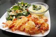 Oven-Baked Coconut Shrimp with Pineapple Jalapeno Salsa