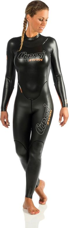 Cressi Ladies Triton All in One Premium Neoprene Swimming Suit Tight Suit, Skin Tight, Rubber Dress, Scuba Girl, Womens Wetsuit, Black Suits, Plein Air, Skinny, Catsuit