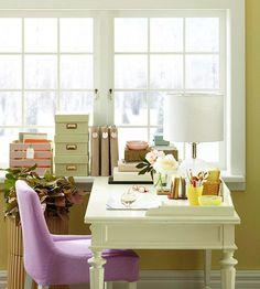 Make Your Home Office an Inspiring Environment #createspace