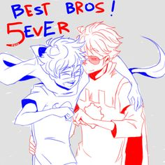 Best Bros, John and Dave