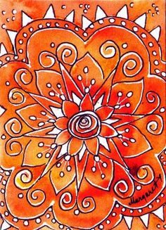 """Water Blossoms: """"The 3 Part...12 Card Rainbow Swap.."""""""