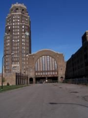 """Buffalo Central Terminal. Reported activity includes cold spots, apparitions and disembodied voices, and more -  was featured on """"Ghost Hunters""""."""