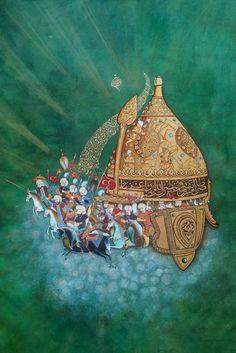 Fetih Fatih Sultan Mehmet  Miğfer Minyatür  çalışmam  Mywork