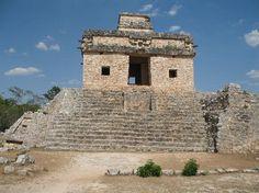 Dzibilchaltun Mayan ruins, Progreso Mexico, Yucatan Peninsula