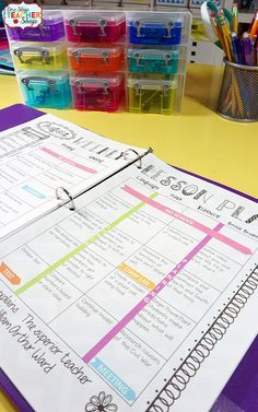 Teacher binder organization just got better! This One-Stop teacher planner has everything you need for classroom organization. This teacher plan book has lesson plan templates, 45 cover designs to choose from, lots of classroom forms, calendars, and more! Love that it is EDITABLE with FREE updates for LIFE! Lesson plans will never be boring again!