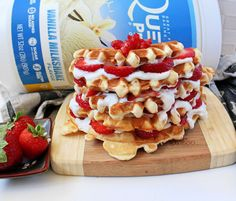 Being my usual stubborn self, I take pride in trying to come up with recipes on my own. I've tried a lot of waffle recipes, but I think this is the best one I've come up with so far! I …