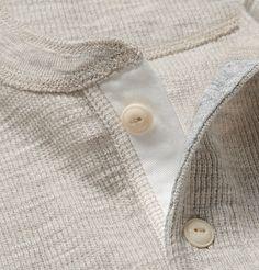 Alex MillRibbed Cotton-Jersey Henley T-Shirt