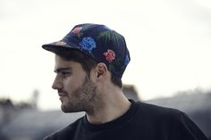 Image of Floral Cycling Cap