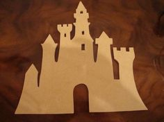 Unfinished Castle Mdf Wood Mosaic Base | zzbobscreativewoodworking - Handmade Supplies on ArtFire