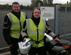 Ashley and Peter, great job men. #motorcycletrainingmanchester #cbtmanchester 0161 973 3450
