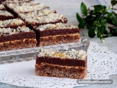 Magdalena ~ Recepti i Savjeti Sweet Recipes, Cake Recipes, Czech Recipes, Sweet Cakes, Desert Recipes, International Recipes, Cake Cookies, Baked Goods, Sweet Tooth