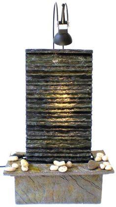 fontaine dintrieur mur deau avec spot