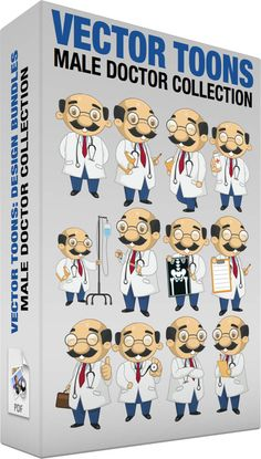 Male doctor collection #bald #balding #bluepants #clinician #cure #doc #doctor #generalpractitioner #glasses #GP #heal #injection #intern #IV #labcoat #male #maledoctor #man #MD #medic #medicalchart #medicalpractitioner #medicate #moustache #physician #prescription #redtie #smiling #stethoscope #teeth #whitecoat #x-ray